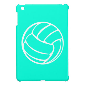 Turquoise Volleyball iPad Mini Case
