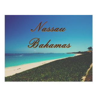 Turquoise Water Beach Postcard