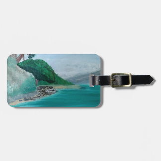 Turquoise Waters Luggage Tag