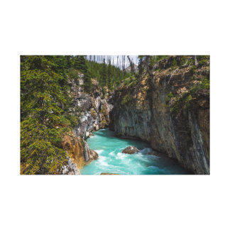 Turquoise waters of Marble Canyon Canvas Print