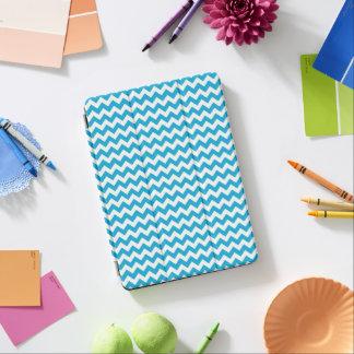 Turquoise White Chevron iPad Pro Cover