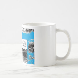 Turquoise with Bench Coffee Mugs