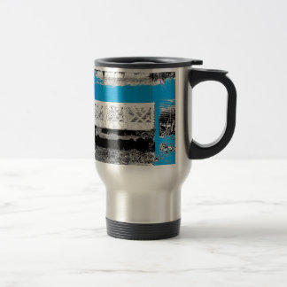 Turquoise with Bench Coffee Mug