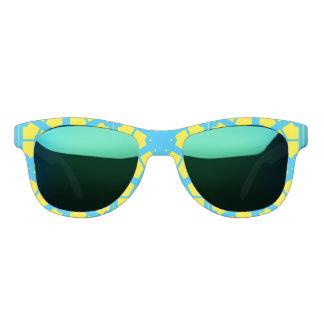 Turquoise Yellow Sunshine 4Tina Sunglasses