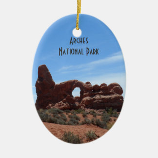 Turret Arch- Arches National Park Ceramic Ornament