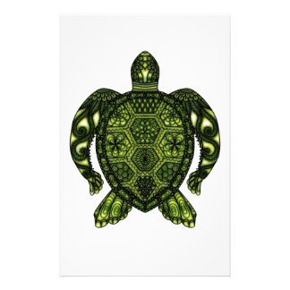 Turtle 2b personalized stationery