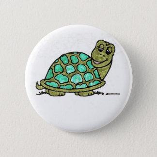 Turtle 6 Cm Round Badge