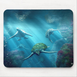 Turtle Alley Mouse Pad
