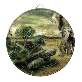 TURTLE AND ELEPHANT DARTBOARD