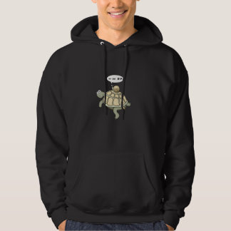 Turtle and snail:  Go Go Go Hoodie