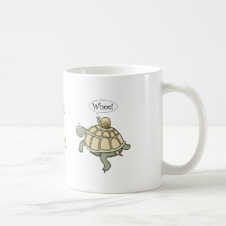 Turtle and snail.  Whee! Coffee Mug
