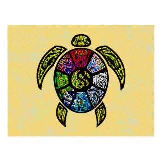 Turtle Ba-Gua Postcard