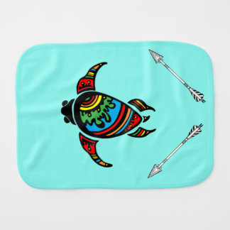 Turtle Baby Clothes & Gifts Burp Cloth