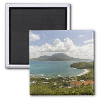 Turtle Beach, southeast peninsula, St Kitts, Square Magnet