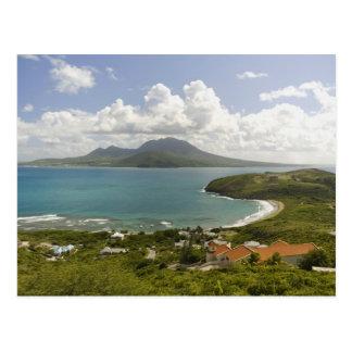 Turtle Beach, southeast peninsula, St Kitts, Postcard