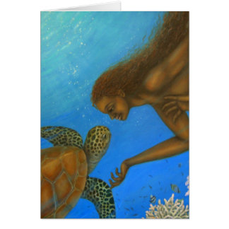 Turtle Blank Card