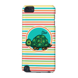 Turtle Bright Rainbow Stripes iPod Touch 5G Cover