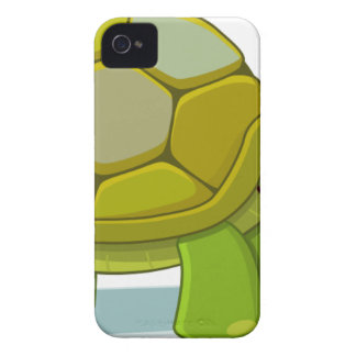 Turtle Cartoon Drawing iPhone 4 Cases