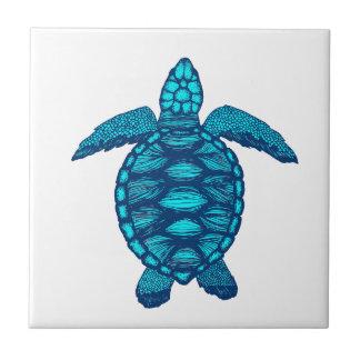 turtle ceramic tile