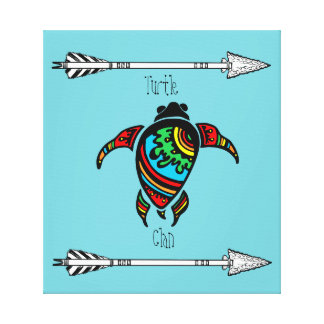 Turtle Clan of the Native American Tribes Canvas Print