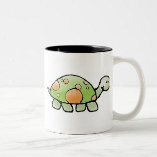 Turtle Coffee Mug - Two-Tone Customizable
