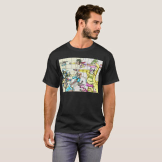 Turtle Cops V Sci-Fi Team T-shirt 2