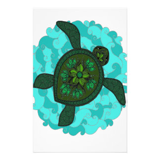 Turtle Custom Stationery