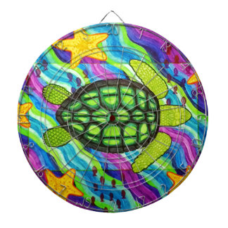 turtle dartboard