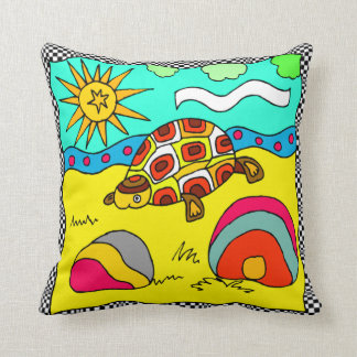TURTLE  DESIGN SOFA PILLOW
