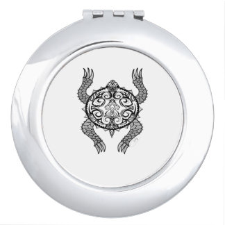 Turtle Drawing Mirror For Makeup