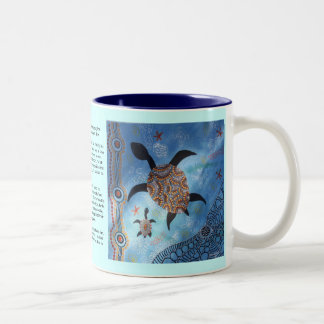Turtle Dreaming Mug with Dreamtime Story