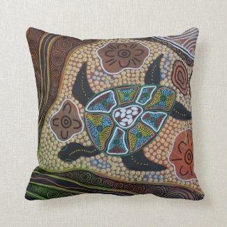 turtle Dreaming Pillow Cushion