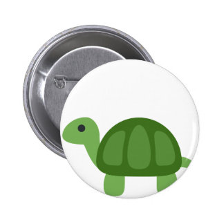 Turtle Emoji 6 Cm Round Badge