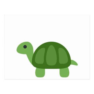 Turtle Emoji Postcard