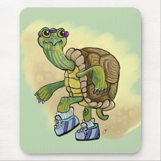 Turtle Fast! Mouse Pad