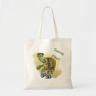 Turtle Fast! Tote Bag
