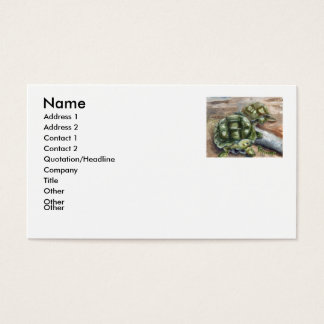 Turtle Friends Business Card