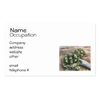 Turtle Friends Business Card Template