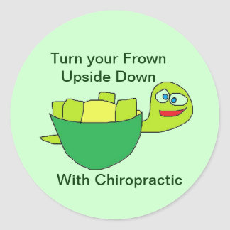 Turtle Fun Chiropractic Sticker