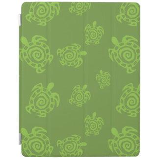 Turtle Green Print iPad Cover