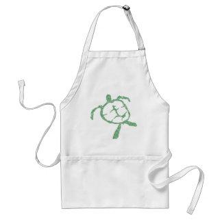 turtle-green standard apron