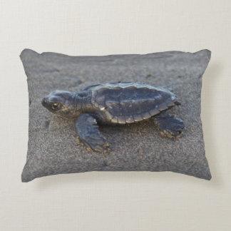 Turtle hatchlings decorative cushion