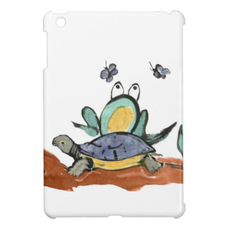 Turtle Helps Frog be Closer to Buzzing Insects Cover For The iPad Mini