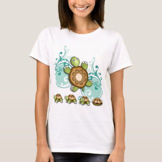 TURTLE Hurry Up Green T-Shirt