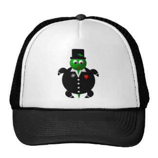 Turtle in a Tuxedo Cap