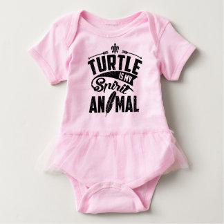 Turtle Is My Spirit Animal Baby Bodysuit