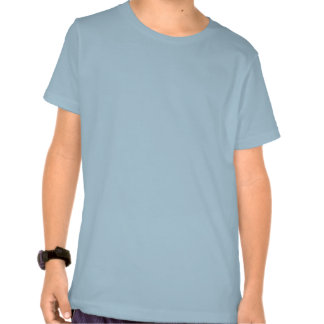 Turtle Kids' Basic American Apparel T-Shirt, blue T-shirt
