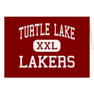 Turtle Lake - Lakers - High - Turtle Lake Greeting Card