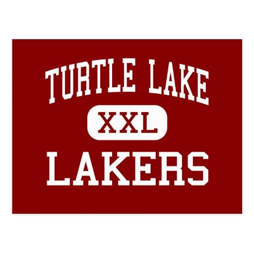 Turtle Lake - Lakers - High - Turtle Lake Post Card