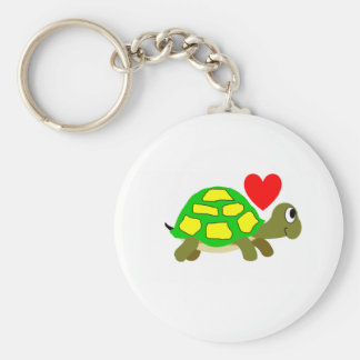 Turtle Love Keychain